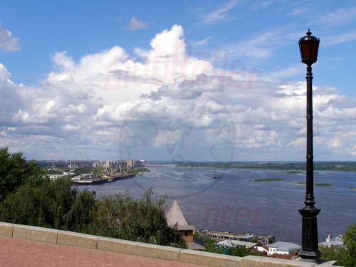 31.07.2008 - Nishnij-Nowgorod Wolga-Oka Mündung