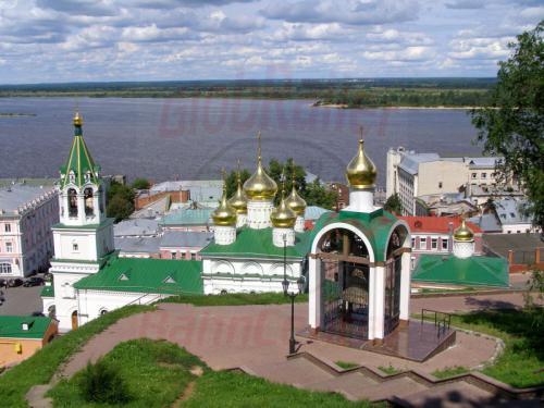 31.07.2008 - Nishnij-Nowgorod Kirche und Glockenturm