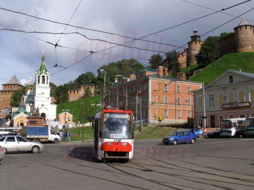 30.07.2008 - Nishnij-Nowgorod Straßenbahn
