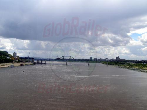 31.07.2008 - Nishnij-Nowgorod Oka und Metrobrücke