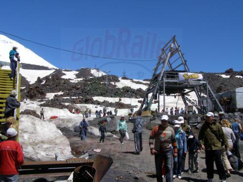 17.07.2008 - Elbrus Seilbahn Zwischenstation
