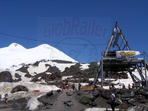 17.07.2008 - Seilbahn Zwischenstation Elbrus Gipfel
