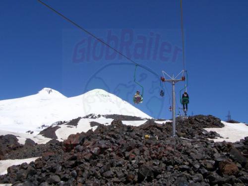 17.07.2008 - Seilbahn Elbrus Gipfel