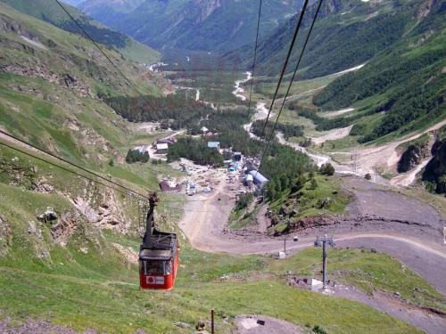 17.07.2008 - Elbrus Seilbahn