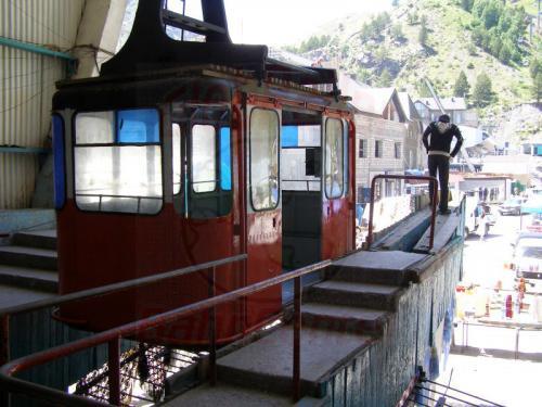 17.07.2008 - Elbrus Seilbahn Talstation