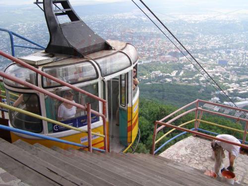 21.07.2008 - Pjatigorsk Seilbahn Bergstation