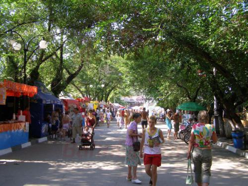 25.07.2006 - Feodosia-Fußgängerzone