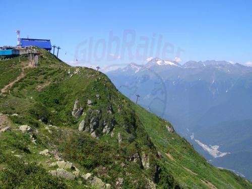 05.08.2006 - Krasnaja Poljana - Bergstation des Aibga auf 2228 Meter