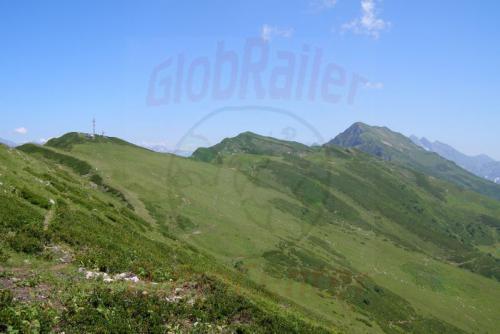 05.08.2006 - Krasnaja Poljana - Gipfelkette des Aibga