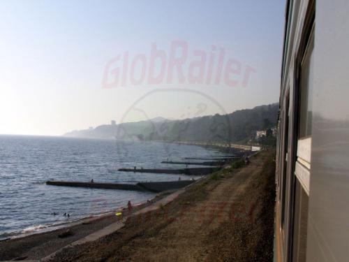 05.08.2006 - An der Küste zwischen Adler und Sotschi