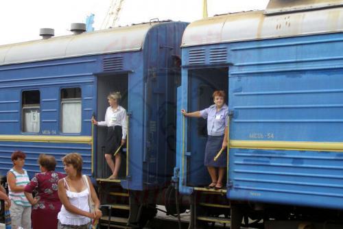 27.07.2006 - Feodosia-Zugschaffnerinnen