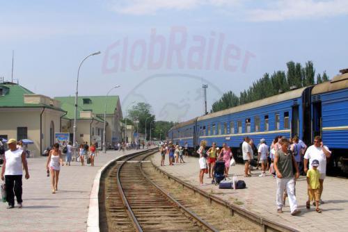 27.07.2006 - Feodosia-Urlaubsbahnhof
