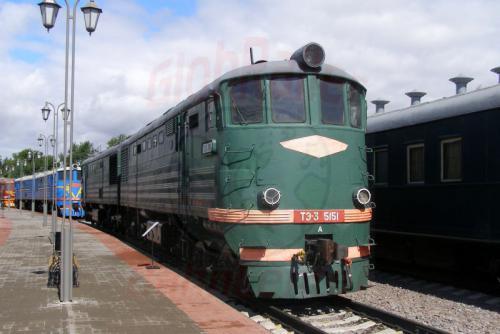 11.08.2006 - Moskau - Museum der Moskauer Eisenbahn-te3-5151