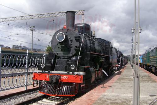 11.08.2006 - Moskau - Museum der Moskauer Eisenbahn-e-2450