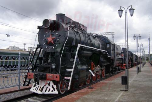 11.08.2006 - Moskau - Museum der Moskauer Eisenbahn-p36-001