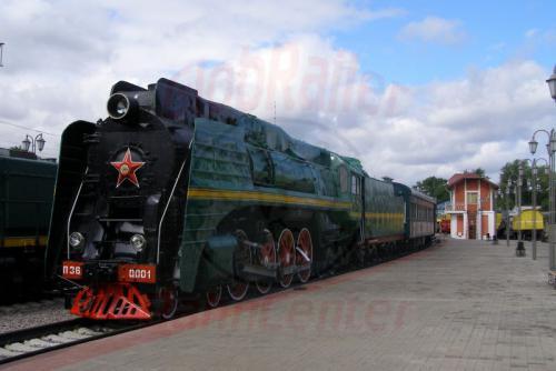 11.08.2006 - Moskau - Museum der Moskauer Eisenbahn-p36-0001