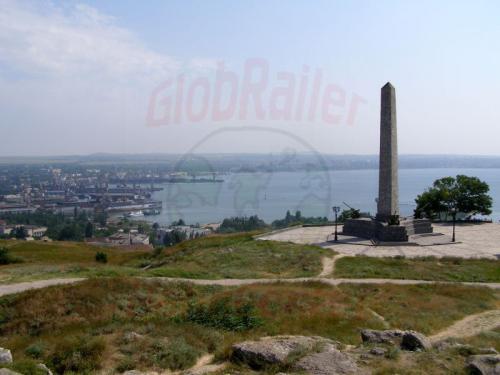 28.07.2006 - Kertsch - Obelisk auf dem Mitridat-Hügel