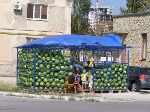 30.07.2006 - Noworossijsk-Melonenhändler