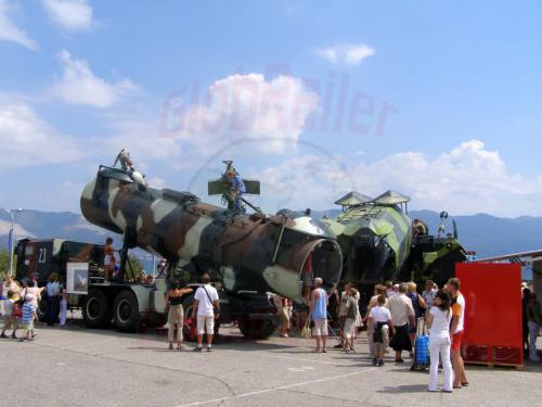 30.07.2006 - Noworossijsk-Militärschau im Hain der Pioniere