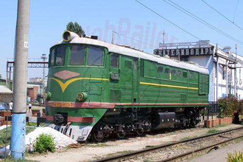 31.07.2006 - Krasnodar-Bahnhof Denkmal der te3 225