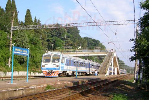 01.08.2006 - Jakornaja Schtschel Bahnhof