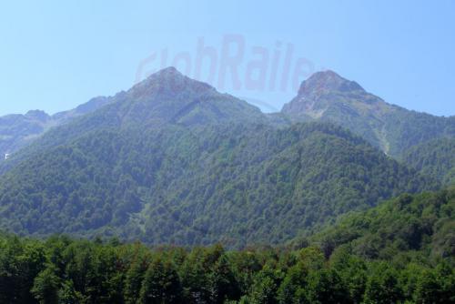05.08.2006 - Krasnaja Poljana - Berge des Kaukasus