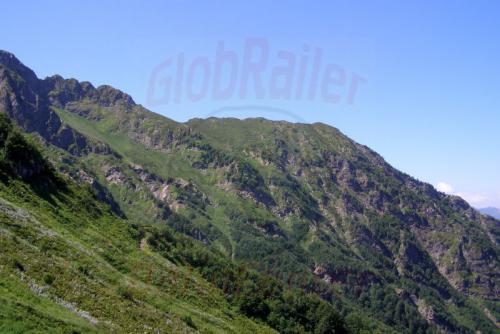 05.08.2006 - Krasnaja Poljana - Gipfel des Aibga