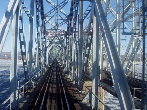 15.04.2003 - Wolgabrücke bei Sisran