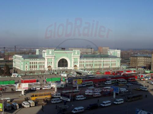 17.04.2003 - Bahnhof Nowosibirsk