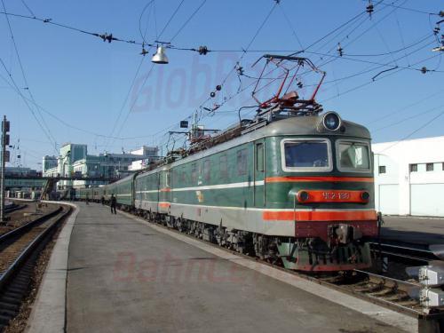 17.04.2003 - Bahnhof Nowosibirsk Postzug nach Moskau