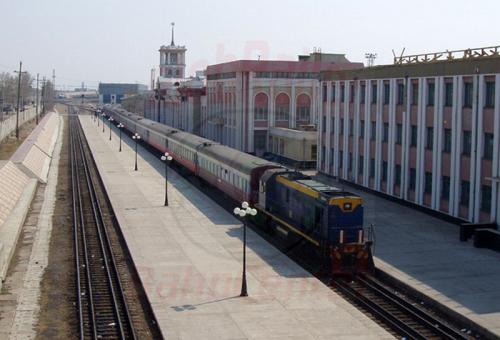 24.04.2003 - Russischer Grenzbahnhof Sabajkalsk