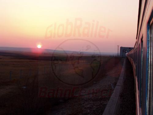 24.04.2003 - Sonnenuntergang an der Russisch-Chinesischen Grenze