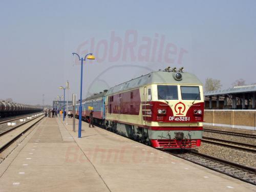 25.04.2003 - Zug 20 mit 170 km-H Lok der Chinesischen Eisenbahn
