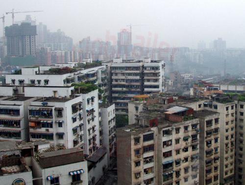 28.04.2003 - Über den Dächern von Shongqing