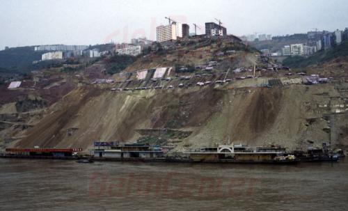 29.04.2003 - Uferbefestigungen am Jangtze