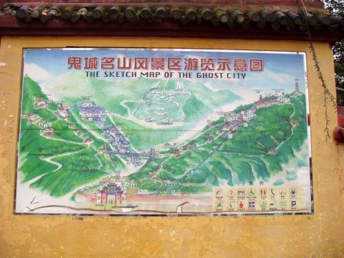29.04.2003 - Geisterstadt in Fengdu