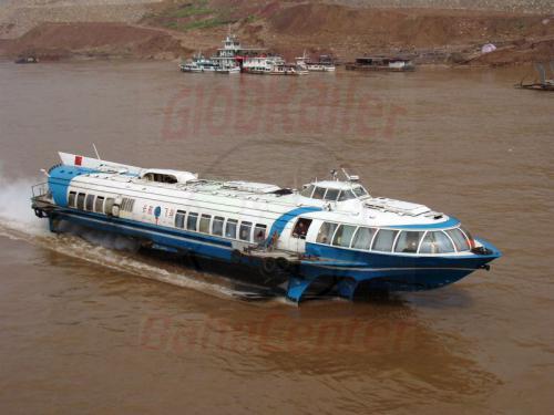 30.04.2003 - Tragflügelboot auf dem Jangtze
