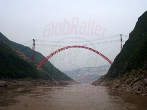 30.04.2003 - Brückenbau über den Jangtze