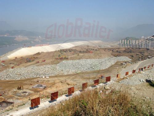 31.04.2003 - Zukünftiger Hafen am Jangtzestaudamm