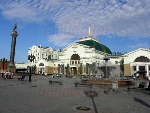 Krasnojarsk neues Empfangsgebäude