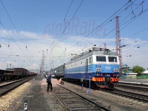 Ijanskaja Zug 76 mit einer WL 65