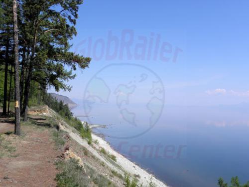 Severobajkalsk Ufer am Bajkal