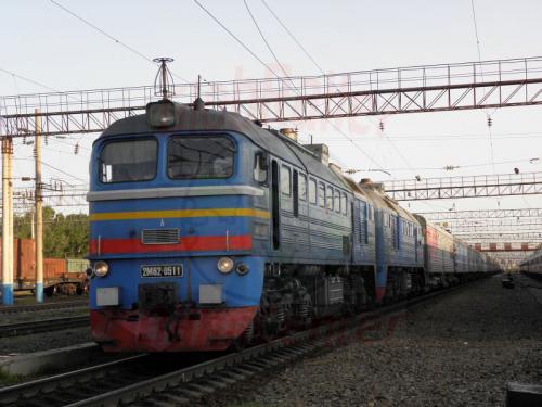 Belogorsk Zug 81 mit 2M62