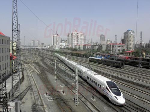 Harbin Bahnhofsausfahrt