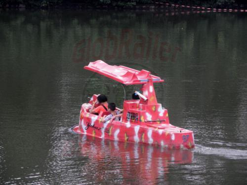 Guangzhou Yuexiu Park Kanonenboot