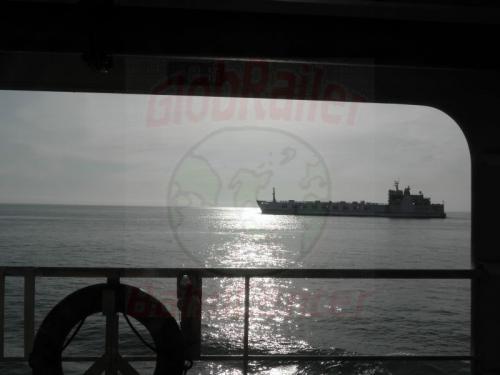 Auf der Fähre nach Hainan